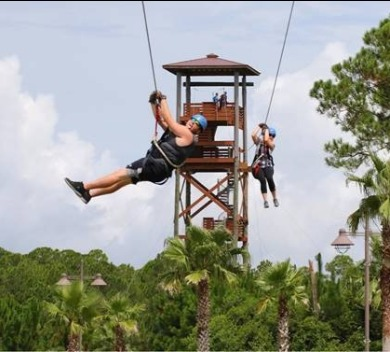 Hummingbird Ziplines | Things to Do this Summer at The Wharf